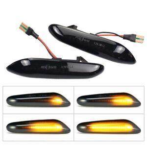 CLIGNOTANTS LED DYNAMIQUE BMW SERIE 1 E81 E82 E87 E88 3 E90 E91 E92 E93 E46 NOIR
