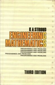Engineering Mathematics: Programmes and Problems by Stroud, K. A. Paperback The