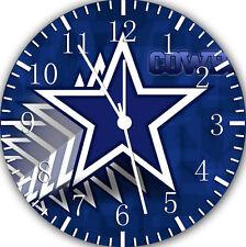 "Dallas Cowboys wall Clock 10"" will be nice Gift and Room wall Decor Z180"