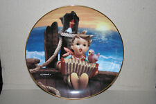M. I. Hummel Let's Sing Danbury Mint Porcelain Plate L0590 Gentle Friends