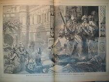 JOURNAL DES VOYAGES N° 118 INDE ROI MUSULMAN ET FUSIL REMINGTON 1879
