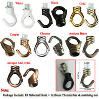 Vintage Iron Ceiling Hook  Pendants  Fixtures Chandelier Hanging Light Holder UK