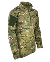 Kids UBAC Tactical Camouflage Top Age 3-13 Army Boys Girls Airsoft Paintballing