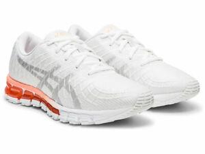 ⭐️⭐️ASICS Women's GEL-Quantum 180 4 White Running Shoes 1022A098 Sz 9 US⭐️⭐️