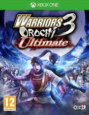 Warriors OROCHI 3 Ultimate XBOX ONE * nouveau scellé pal *
