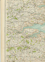2310 1898 MAP of Royal Atlas of England & Wales Pl.43 CANTERBURY (Kent)