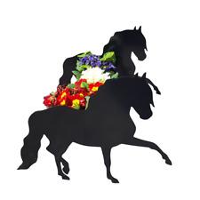 Andalusian Horse Garden Planter Flower Pot Holder Horses Pots