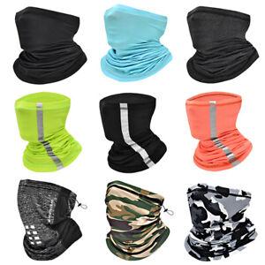 Unsiex Neck Gaiter Face Cover Scarf Washable Balaclava Bandana Headband Warmer