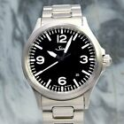 [NEW] Sinn 556A Automatic Date Black Dial 38.5mm Stainless Steel Mens Watch 200m