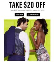 Saks Fifth Ave OFF 5TH Coupon $20 off $150 (Exp Aug 12, 2019) *CLICK HERE*