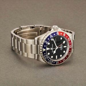Revue Thommen 175722135 Diver Black Dial Stainless Steel Men's Watch