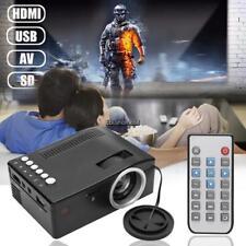 HD 1080P Home Theater LED Micro Mini Multimedia Projector Cinema USB AV EHE8 01