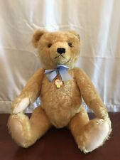 Rare Steiff 1951 Teddy Bear Blond 50cm Replica, Limited Edition Ean 408434