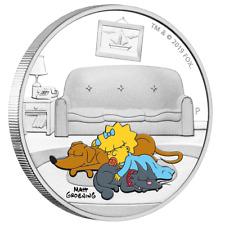 Tuvalu - 1 Dollar 2019 - Maggie Simpson™ - Die Simpsons™ (5.) - 1 Oz Silber PP