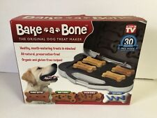 New listing Bake A Bone Dog Treat Maker Original As Seen On Tv Homemade Puppy Snacks New!