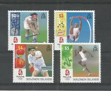 BRITISH SOLOMON IS's 2008 OLYMPIC GAMES SG,1246-1249 U/M NH LOT 2895A