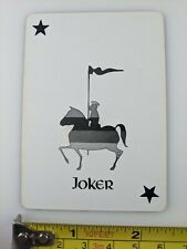 Antique Playing Card Old Joker Unique Single Swap St James Hotel Red Wing Lot 28