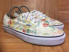 RARE🔥 VANS x Disney Little Mermaid Ariel Authentic Shoes 6 Men's - 7.5 Women's