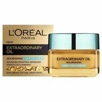 L'Oreal Extraordinary Nourishing Light Oil Cream Non-Greasy Fresh Finish 50 ml