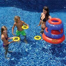 Swimline Slot Slam Disc Toss Game Inflatable Floating Swimming Pool Fun 90286