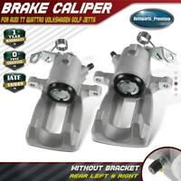 2x Brake Caliper for Audi TT Quattro Volkswagen VW Golf Jetta Rear Left & Right
