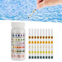 50PCS/Chlorine Dip Test Strips Hot Tub SPA Swimming Pool PH Tester Paper 5   JU