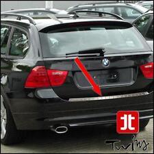 Protezione soglia carico SATINATA paraurti BMW E91 Serie 3 touring SW Acciaio