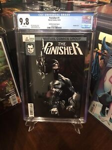 Punisher 1 (2018), CGC 9.8 Dell'Otto Variant