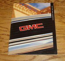 Original 1999 GMC Light Commercial Sales Brochure 99 Sierra Jimmy Sonoma