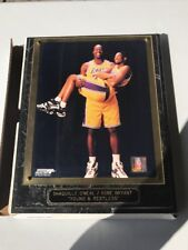 Shaquille O'Neal And Kobe Bryant Wall Picture Collectable