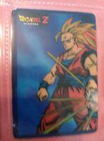 dragon ball extraña card super saiyan collection