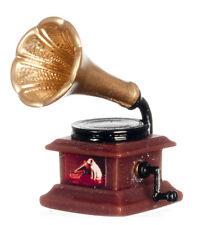 Gramophone, Miniature Dolls House Accessory. Music Room