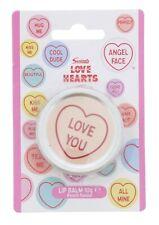 18 x Swizzels Love Hearts Lip Balm TIN Gloss Lipstick Beauty Salon Job lot Bulk