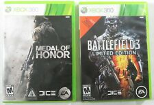 Battlefield 3: Limited Edition & Medal Of Honor (Xbox 360) - Complete