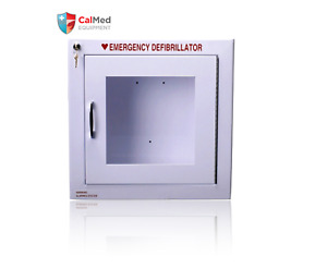 Universal AED Cabinet (with Alarm, wall mounted) -- All AED- Zoll/Philips ETC