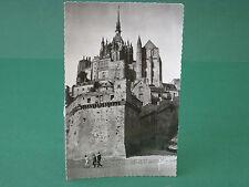 Ak le Mont Saint Michel dom iglesia obra arquitectura mayores Postal nº 2