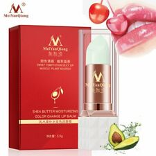 Moisturizer Anti-cracking Temperature Color Change Shea Butter Lip Balm Care