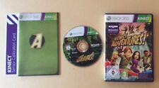 Jeu XBOX 360 Microsoft KINECT ADVENTURES ! + SENSOR CALIBRATION CARD