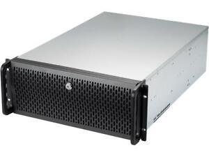 Rosewill 255072 Case Rsv-l4412u Server 4u Rackmount 12x3.5hdd 2x80 3x120mm Fan
