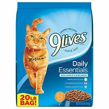 9Lives 20 Lb Daily Essentials Dry Cat Food Large