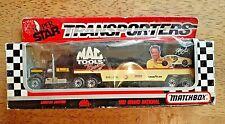 1992 MATCHBOX SUPERFAST SUPER STAR TRANSPORTERS MAC TOOLS RACING TRUCK & TRAILER