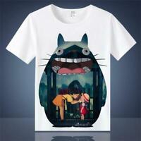 Anime Studio Ghibli My Neighbor Totoro Short Sleeves Cosplay Vest T-shirt Tees
