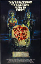 24X36Inch Art RETURN OF THE LIVING DEAD Movie POSTER RARE P33