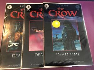 THE CROW DEAD TIME #1 2 3 / J O'BARR'S / HG KITCHEN SINK