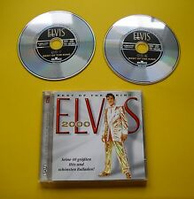 """2 CDs """" ELVIS PRESLEY -  BEST OF THE KING - ELVIS 2000  """" 40 GREATEST HITS - TOP"""