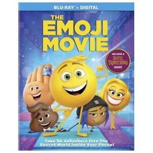 The Emoji Movie (Blu-ray Disc / Digital, 2017) NEW