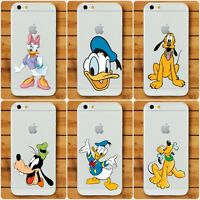 Disney Daisy Donald Duck Goofy Cover Case For iPhone 6 7 8 X XS Samsung S6 S7 S8