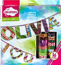 Crayola Creations Tapefitti Banner Kit - Craft Sets, Art & Craft, Creative Toys
