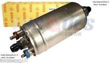 BOSCH 0580 254 044 esterna ad alte prestazioni POMPA COMBUSTIBILE con un ADATTATORI -6 NERO