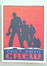 2010 BOB DYLAN BACKSTAGE PASS FALL CREW RED